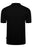 PAUL SMITH REGULAR FIT MULTISTRIPE PLACKET PIQUE POLO BLACK