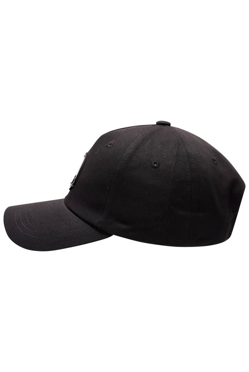 MOOSE KNUCKLES GUN METAL LOGO CAP BLACK