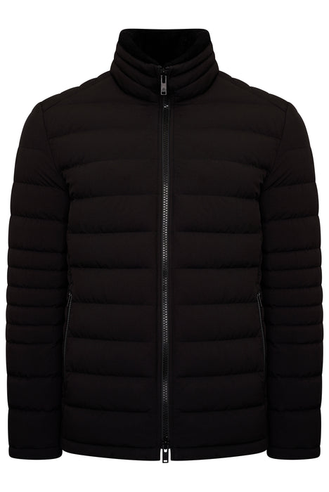 MOOSE KNUCKLES SILVERTHORNE QUILTED JACKET BLACK