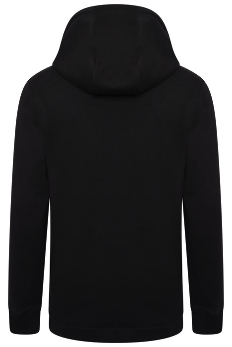 MOOSE KNUCKLES BRUNSWICK REPEAT LOGO HOODIE BLACK