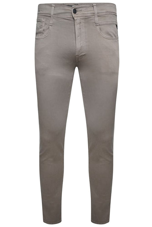 REPLAY SLIM FIT HYPERFLEX CHINO BEIGE - giancarloricci
