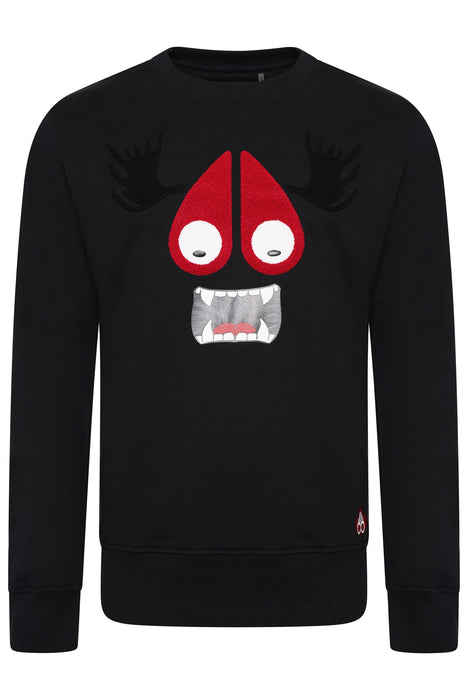 MOOSE KNUCKLES MUNSTER SWEAT BLACK