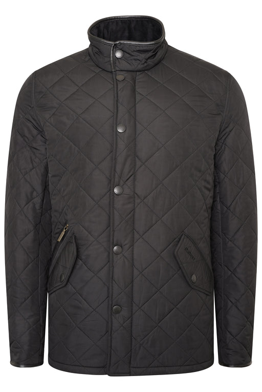 BARBOUR POWELL POLARQUILT JACKET BLACK
