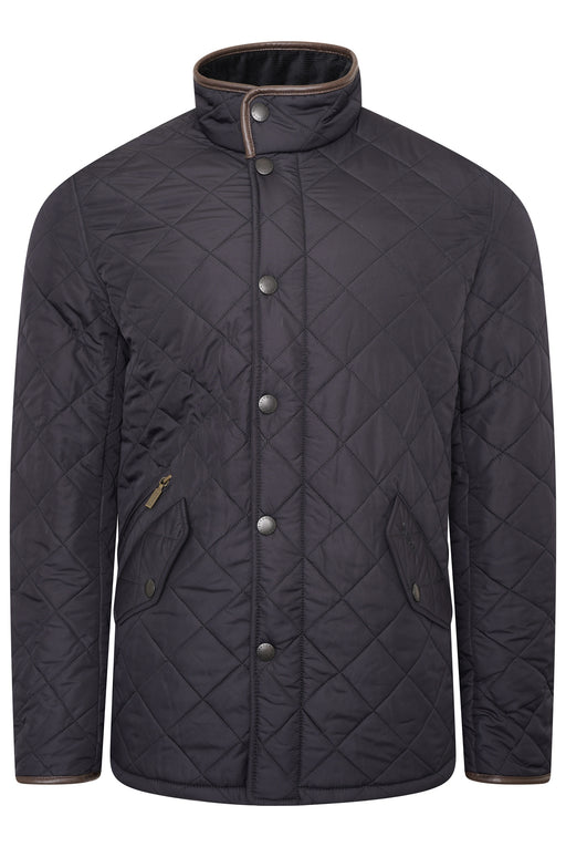 BARBOUR POWELL POLARQUILT JACKET BLUE