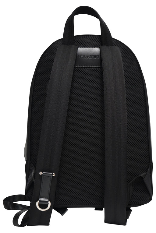 NEIL BARRETT THUNDERBOLT BACKPACK BLACK - giancarloricci