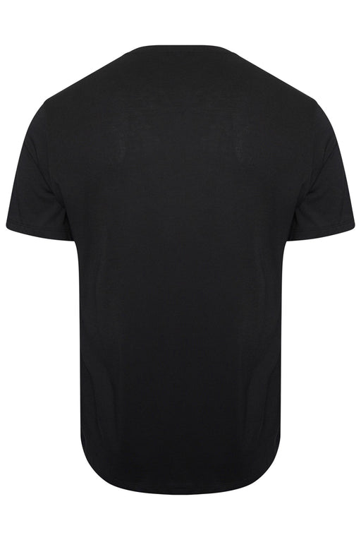 NEIL BARRETT CITY LIGHTS PRINT TEE BLACK - giancarloricci