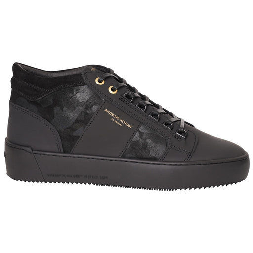 ANDROID HOMME PROPULSION LEATHER SUEDE CAMO MID BLACK