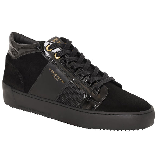 ANDROID HOMME PROPULSION PATENT SUEDE MID BLACK