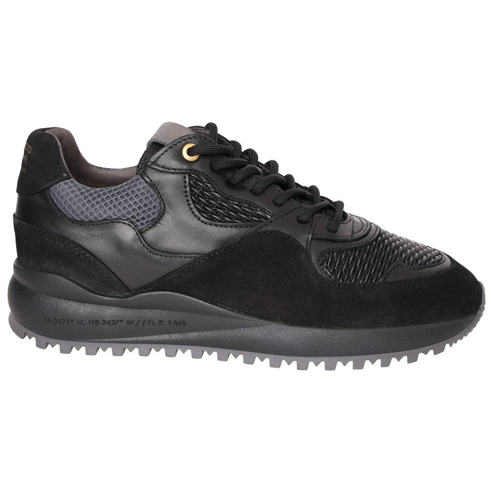 ANDROID HOMME SANTA MONICA STRETCH WOVEN RUNNER BLACK