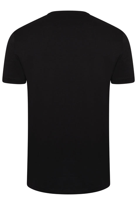 BOSS CORE LOGO STRETCH TEE BLACK