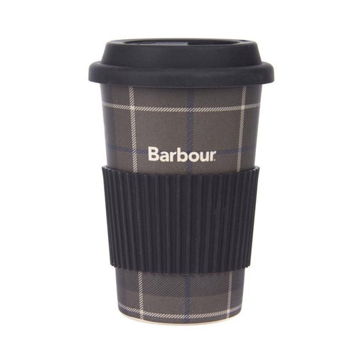 BARBOUR TARTAN TRAVEL MUG BLACK