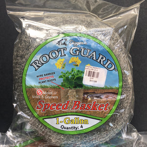 Root Guard Gopher Basket - 1 Gallon - 4 pack