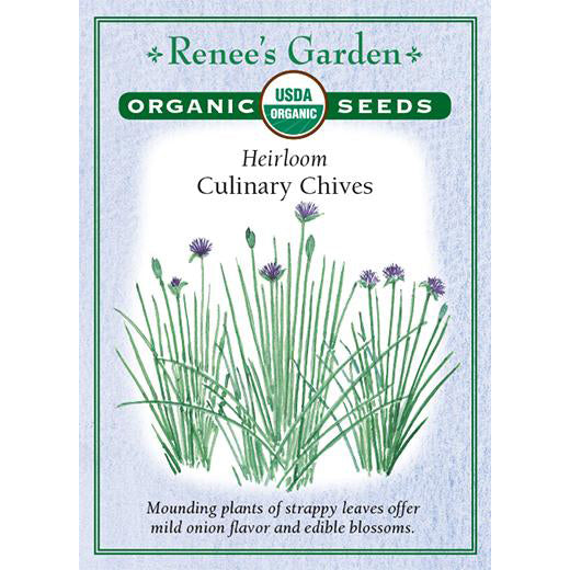 Chives - Organic Heirloom Culinary
