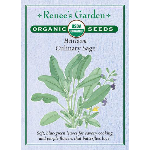 Sage - Organic Heirloom Culinary