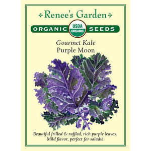 Kale - Organic Gourmet Purple Moon