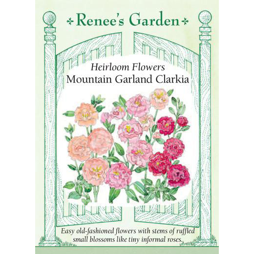 Clarkia - Heirloom Mountain Garland
