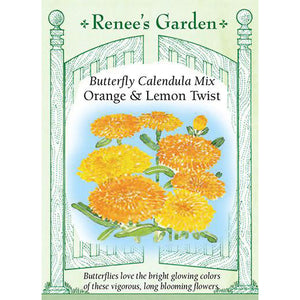 Calendula - Orange & Lemon Twist Butterfly Mix