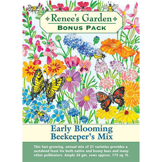 Bonus Pack - Early Blooming Beekeeper's Mix