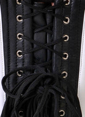 Viva Leather overbust corset
