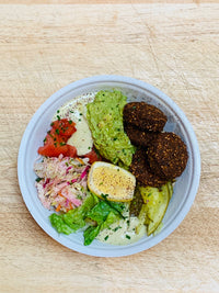 Vegan and Gluten Free Falafel Bowl