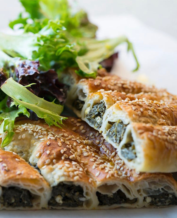 Spinach and Feta Boureka