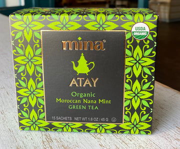 Mint Tea: Green Moroccan Nana Mint