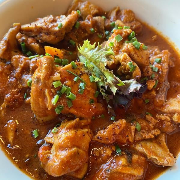 Mama's Chicken Stew (Serves 2)
