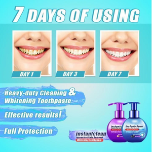 Teeth Whitening Toothpaste Intensive Stain Removal Kit