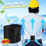 Hang Waist Cooling Fan ( Buy 2 Get Extra 10% Off ) TopViralPick Black