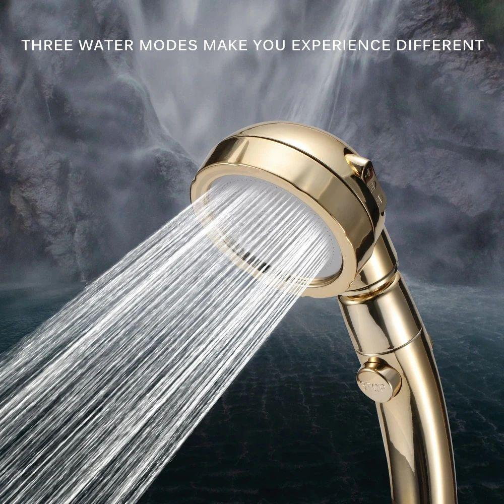 Bathroom-Pro™ 3 In 1 High-Pressure Shower Head