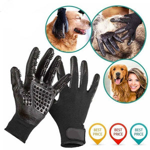 Pet Grooming Gloves For Cats Dogs and Horses