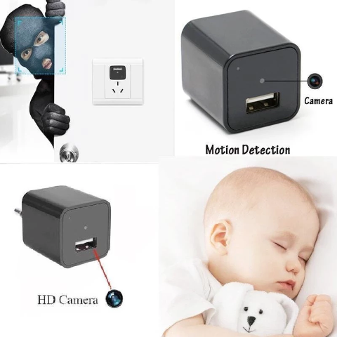 Copy of New 1080P Mini Charger USB Camera ( Buy 2 Get Extra 10% Off )