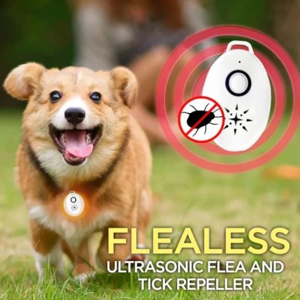 USB Ultrasonic Flea Tick Repeller ( Buy 2 Get Extra 10% Off )