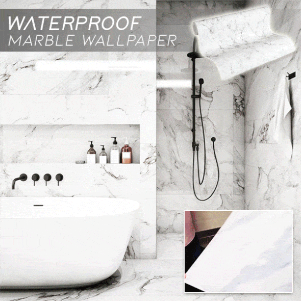 Waterproof Marble Wallpaper