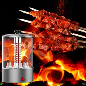 Automatic 360° Rotating Smokeless Electric BBQ Grill- Hold Up To 12 Strings