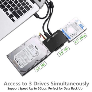 USB3.0 to SATA IDE Hard Disk Adapter Converter