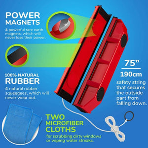 Magnetic Window Cleaner ( Buy 2 Get Extra 10% Off ) TopViralPick