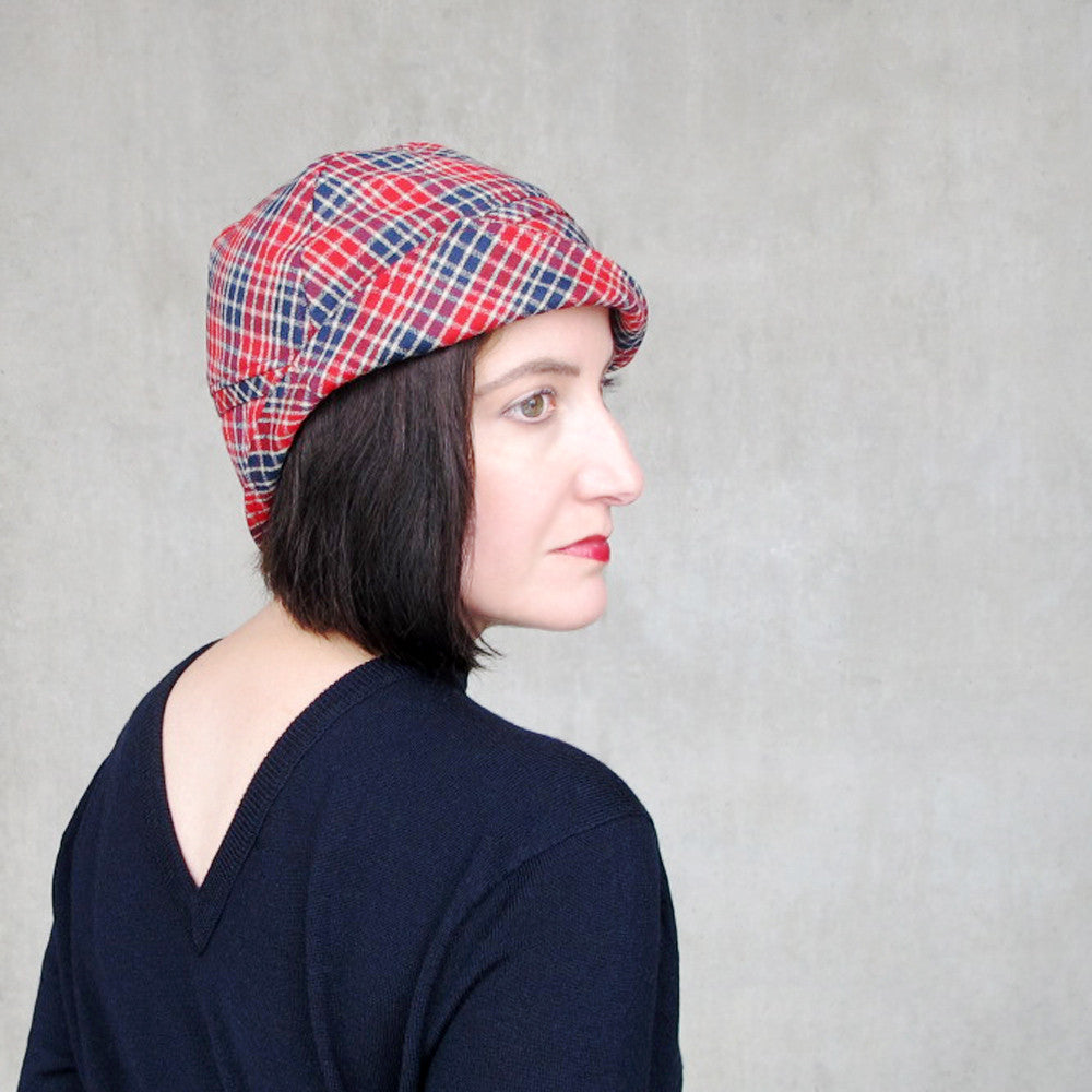 Preppy plaid hat - terry graziano
