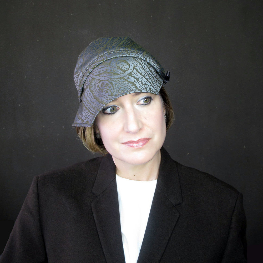 High fashion cloche hat turban - terry graziano