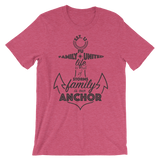 Anchor T-shirt Heather Raspberry