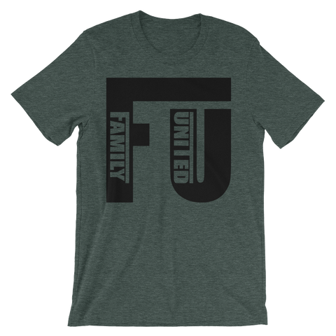 FU T-shirt Heather Forest