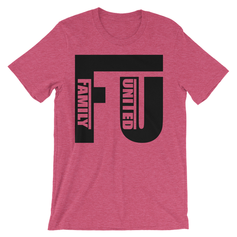 FU T-shirt Heather Raspberry