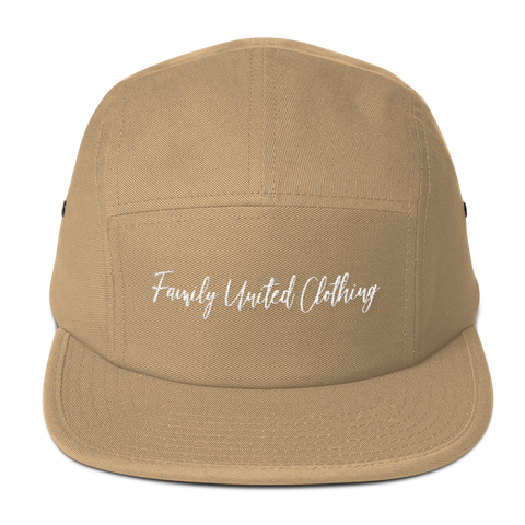 The Family Signature Low Profile Cap Khaki