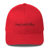 The Family Signature FlexFit Hat Red