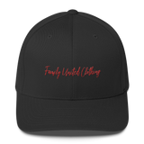 The Family Signature FlexFit Hat Black