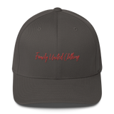 The Family Signature FlexFit Hat Dark Grey