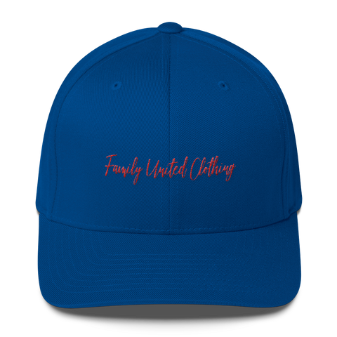 The Family Signature FlexFit Hat Royal Blue