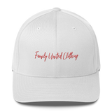 The Family Signature FlexFit Hat White