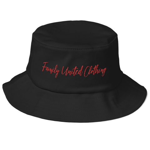 The Family Signature Flexfit Bucket Hat Black