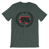 Family United Logo T-shirt Heather Forest